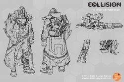 code orange games collision-hatemonger flamer concept art