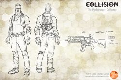 code orange games collision reclaimer collector assault rifle concept art