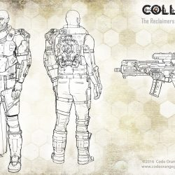 code orange games collision reclaimer expedition leader concept