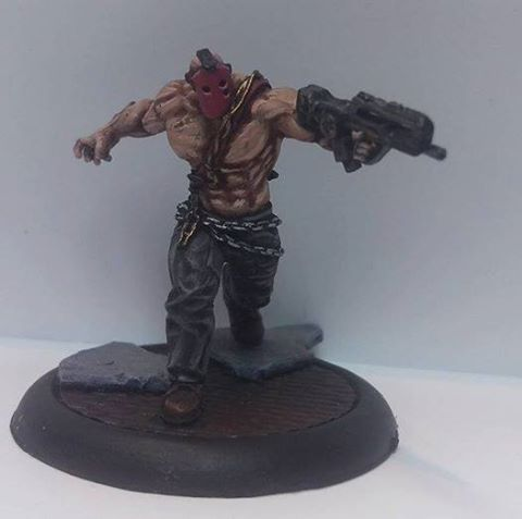 Brawler painten by Michel