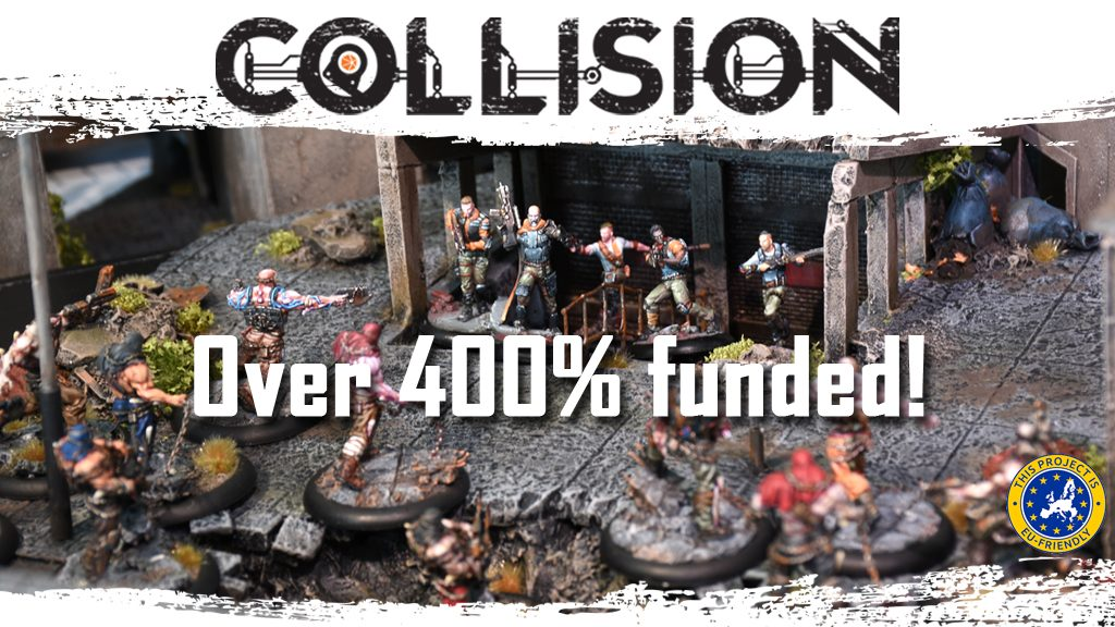 The Kickstarter campaign is at an end! We ended the campaign at 415% funded by 207 backers and all stretch goals unlocked. I think we can call it a great success :-D Thank you all for your support! You helped making Collision a reality.