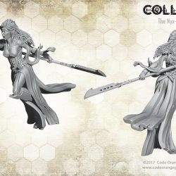 The matriarch leads the Nyx into the wastelands of the world of Collision
