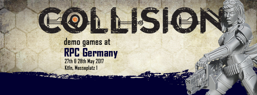 Collision will be attending the RPC in Koln Germany