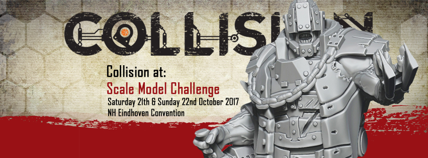 Just like last year we will be attending the SMC. Because no event is complete with Code Orange Games ;-) Drop by to play some demo games, have a look at our latest miniatures, have a chat and of course to get some Collision products!